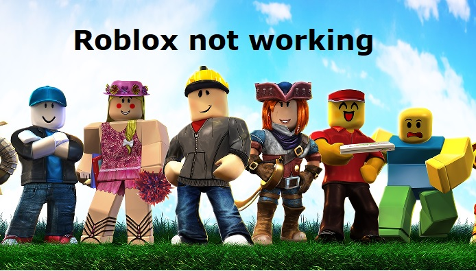 Roblox not working