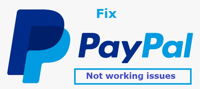 paypal not working
